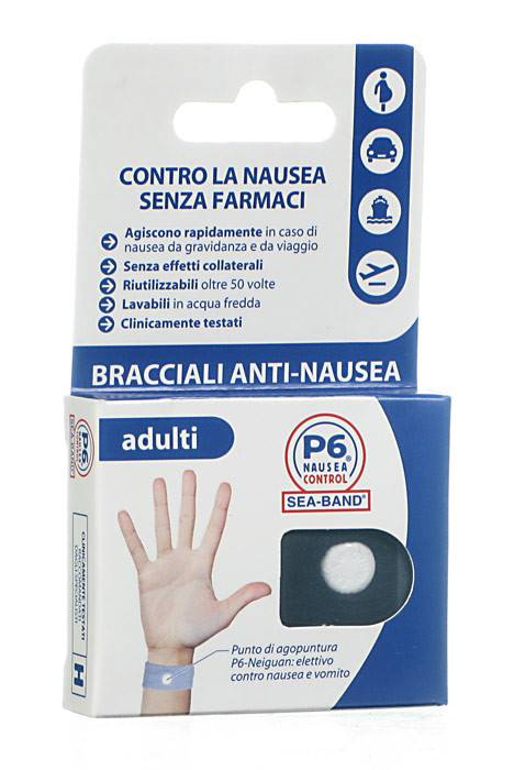Consulteam Bracciale Per Nausea Per Adulti P6 Control Seaband