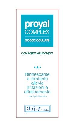 A.g.f. Proyal Complex Gocce Oculari Flacone 15ml
