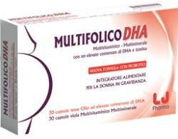 Lj Pharma Multifolico Dha 60 Capsule