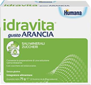Humana Italia Idravita Gusto Arancia 12 Bustine Da 6 25 G