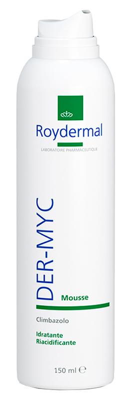 Roydermal Der myc Mousse Detergente Per Cute E Mucose 150 Ml