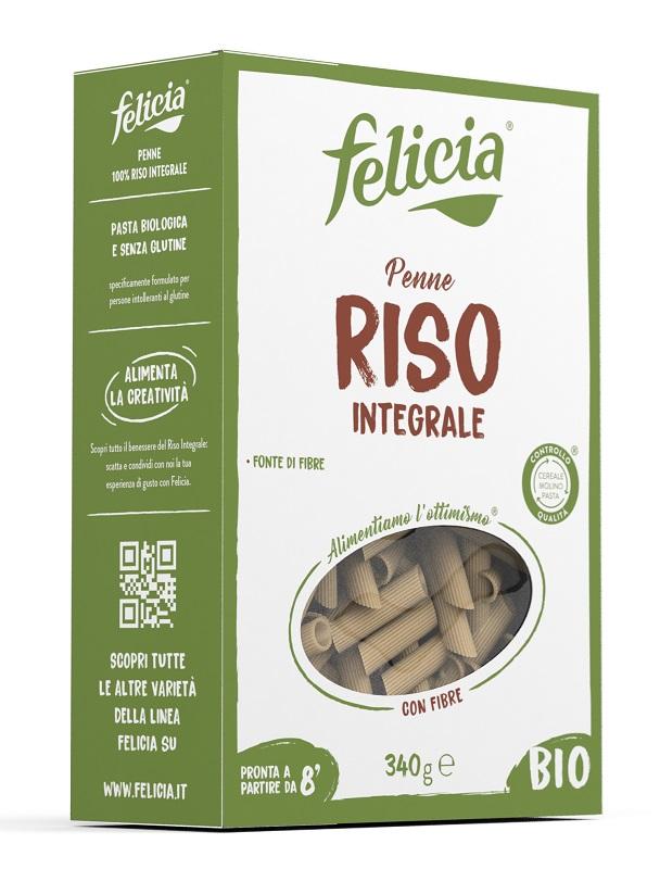Andriani Felicia Bio Riso Integrale Penne 340 G