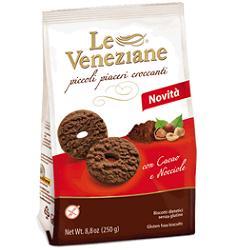 Molino Di Ferro Le Veneziane Biscotti Cacao/nocciola 250 G