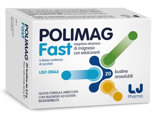 Lj Pharma Polimag Fast 20 Bustine