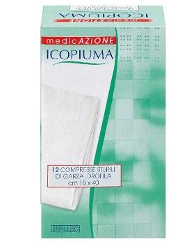 Desa Pharma Garza Compressa Idrofila Icopiuma 18x40cm 12 Pezzi