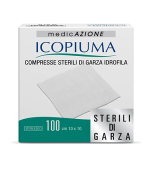Desa Pharma Garza Compressa Idrofila Icopiuma 10x10cm 100 Pezzi