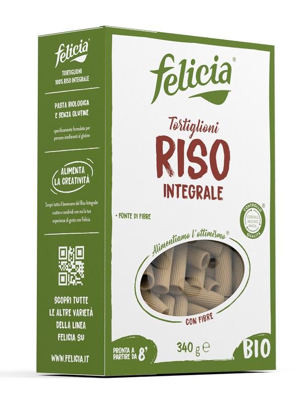 Andriani Felicia Bio Riso Integrale Tortiglioni 340 G