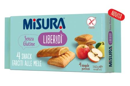 Colussi Misura Snack Farcito Mela 160 G senza glutine