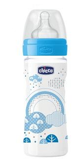 Chicco Biberon Ben Pp Boy 250 Ml Regolabile Silicone Igbfdtr
