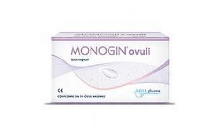 Lo.li.pharma Monogin Ovuli Vaginali 10 Pezzi