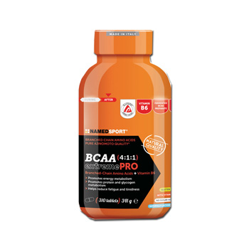 Named Bcaa 411 Extreme Pro 310 Compresse