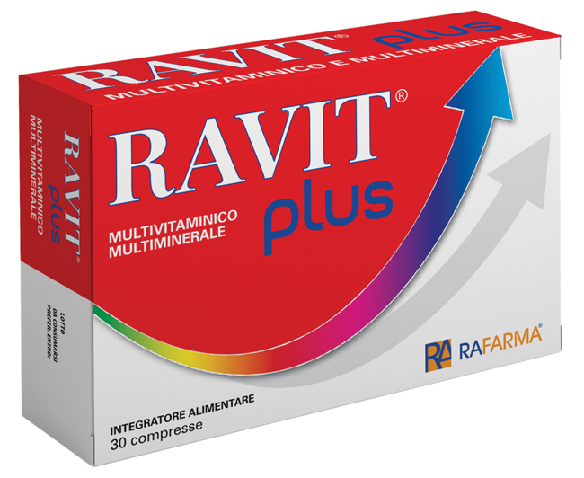 Rafarma Di Alfio Rapisarda Ravit Plus 30 Compresse Blister 36 G