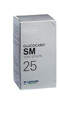 A.menarini Diagnostics Test Strips Per Misurazione Glicemia Glucocard Sm 25 Pezz