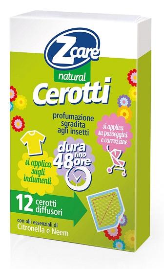 Bouty Zcare Natural Baby Cerotti 12 Pezzi