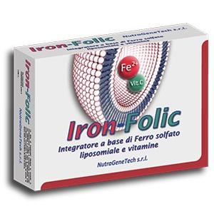 Nutragenetech Iron folic 30 Capsule