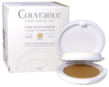 Eau Thermale Avene Couvrance Crema Compatta Colorata Nf Oil Free Naturale 9 5 G