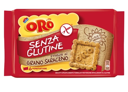 Mondelez Italia Oro Saiwa Senza Glutine Grano Saraceno 240 G 6 Monoporzioni