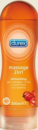 Reckitt Benckiser H.(it.) Durex Massage 2in1 Stimulating