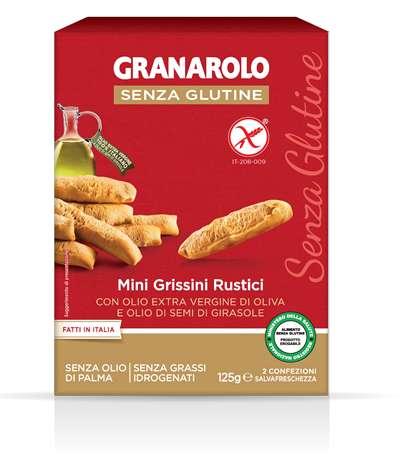 Granarolo Mini Grissino Rustico Senza Glutine 125 G