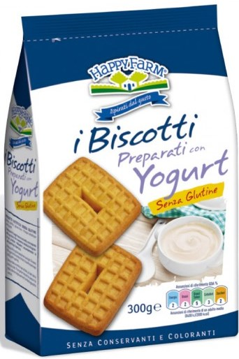 Nabu Happy Farm Biscotti Yogurt Senza Zucchero 300 G