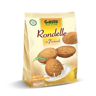 Giuliani Giusto Senza Glutine Rondelle Ai 7 Cereali 250 G