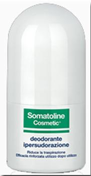 Somatoline Cosmetic Deodorante Ipersudorazione Duetto Roll-on 40 Ml + 40 Ml