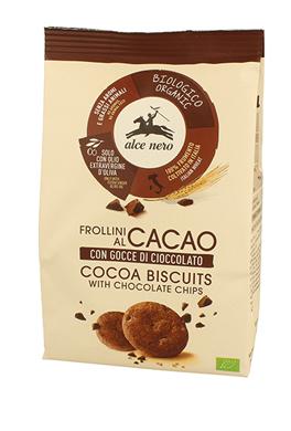 Alce Nero Frollino Cacao Con  Gocce Di Cioccolato Bio