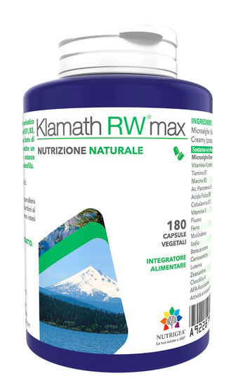 Nutrigea Research Klamath Rw Max 180 Capsule
