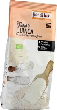 Baule Volante & Fior Di Loto Farina Quinoa Senza Glutine Bio 375 G