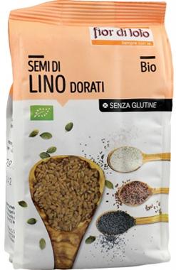 Baule Volante & Fior Di Loto Semi Lino Dorati Senza Glutine Bio 400 G