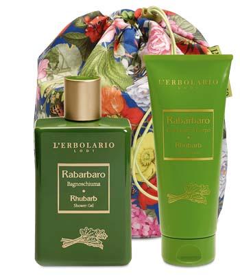 L'erbolario Rabarbaro Beautybag Duo