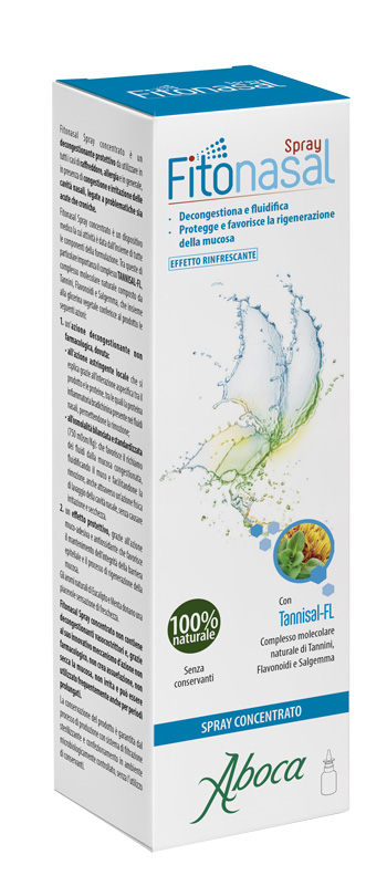 Aboca Societa Agricola Fitonasal Spray Concentrato 30 Ml