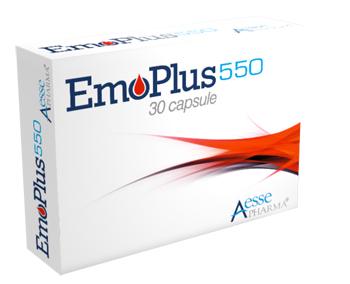 Aesse Pharma Emoplus 30 Capsule 550 Mg