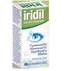 Montefarmaco Linea Igiene Occhi Iridil Gocce Oculari 10 ml