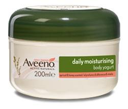 Aveeno Linea Cura della pelle Crema Corpo Yogurt Vaniglia & Avena 200 Ml