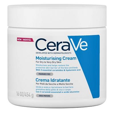 CeraVe Linea Idratazione del Corpo Crema Idratante 454 g