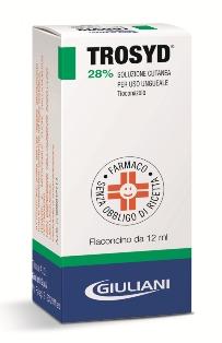 Trosyd 28 Soluzione Cutanea Per Uso Ungueale Flaconcino 12 Ml