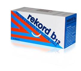 Rekord B12 Polvere E Solvente Per Soluzione Orale 10 Contenitori Monodose