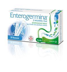 Enterogermina 2 Miliardi 5 Ml Sospensione Orale 20 Flaconcini 5 Ml