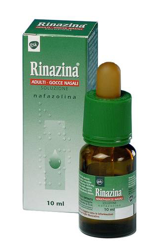 Rinazina 1 Mg/Ml Gocce Nasali, Soluzione Flacone 10 Ml