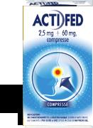 Actifed 2 5 Mg 60 Mg Compresse 12 Compresse