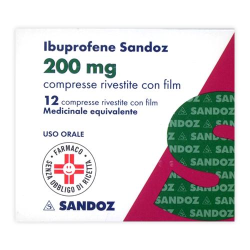 Ibuprofene San 200 Mg Compresse Rivestite Con Film Blister Da 12 Compresse