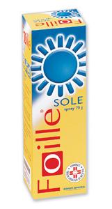 Foille Sole Spray Cutaneo, Soluzione 1 Contenitore Sotto Pressione Da 70 G
