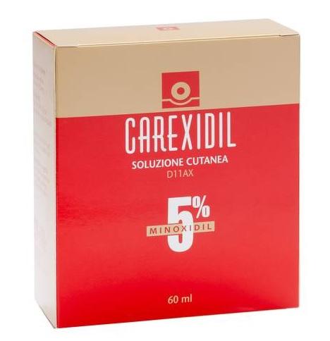 Carexidil 5% Soluzione Cutanea Flacone In Hdpe Da 60 Ml