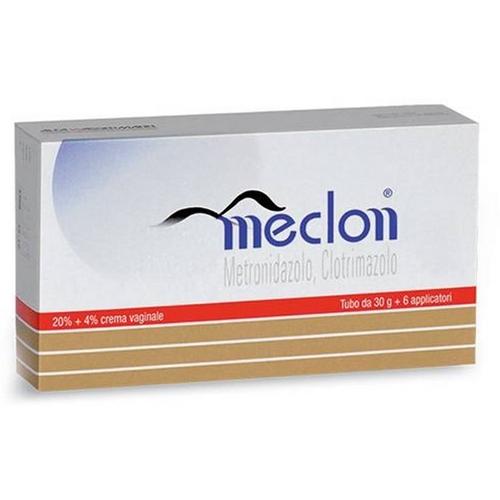 Meclon 20 4 Crema Vaginale Tubo 30 G 6 Applicatori