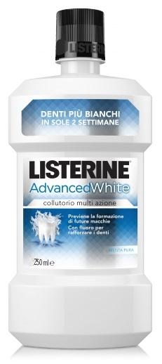 Listerine Advance White Collutorio 250 Ml