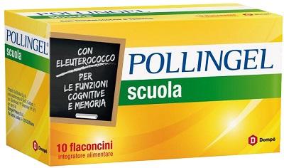 Dompe' Farmaceutici Pollingel Scuola 10 Flaconcini Da 10 Ml