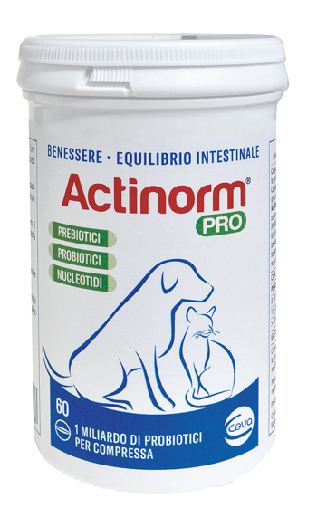 Ceva Salute Animale Actinorm Pro Flacone 60 Compresse