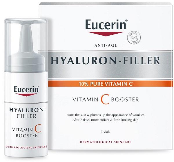 Eucerin Hyaluron-filler Vitamin C Booster 3 X 8 Ml
