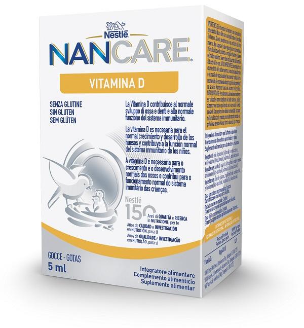 Nestlè Nancare Vitamina D Integratore Alimentare Gocce 5 Ml